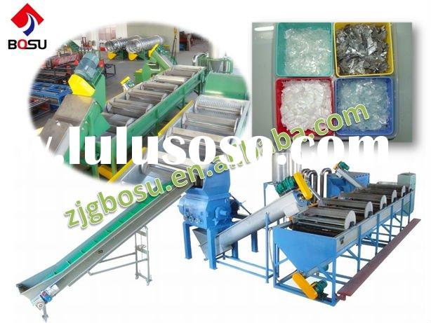PP/PE/PVC Film Washing and Recycling Line/Plastic Recycle Machine