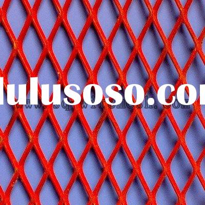 PVC coated expanded metal mesh/sheet
