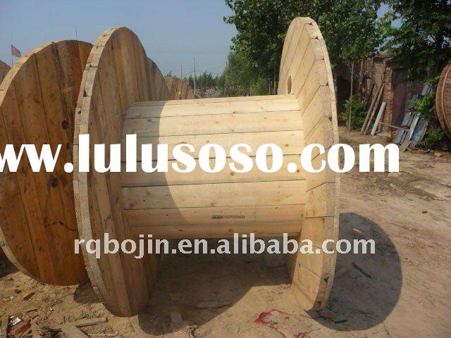 Pine cable drum for sale