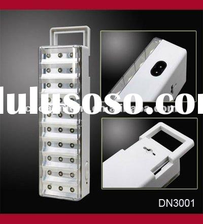 Portable 30led rechargeable emergency led light No.3001