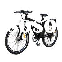 Portable Lithium Electric Bicycle with Light Aluminum Frame LB1802