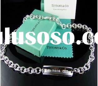 Real 925 sterling silver necklace - brand jewelry replica