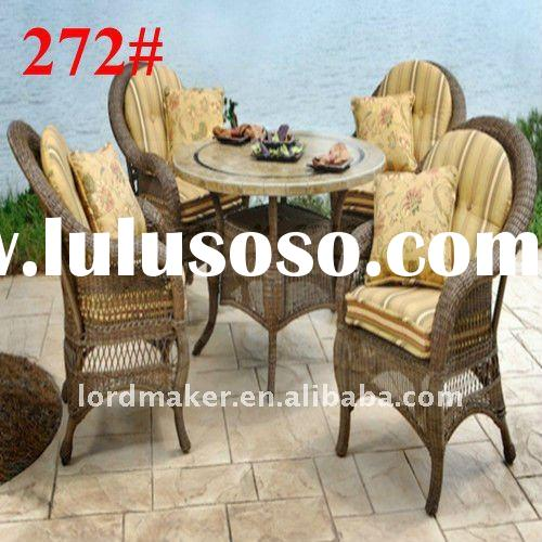 Resin wicker patio furniture of Classic Style urban outdoor furniture Set (272#)