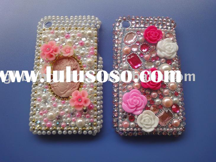 Rhinestone cell phone crystal case for iPhone 3G/3GS