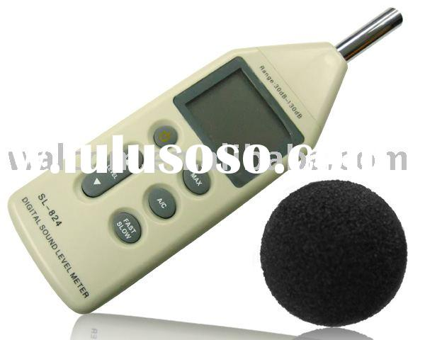 SL824 Digital sound level Meter , Sound meter ,Sound noise meter