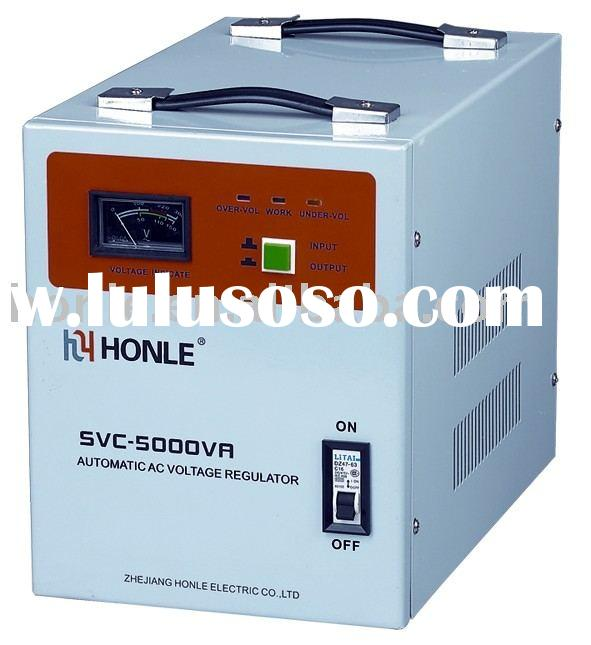 SVC-5000VA Single-phase high accuracy full automatic AC voltage stabilizers