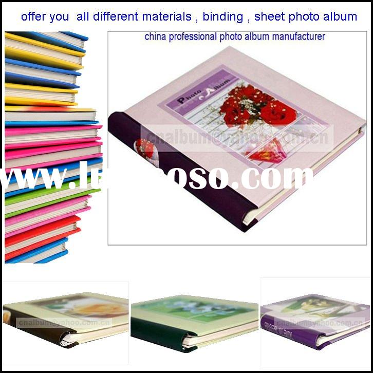 Self-adhesive photo album