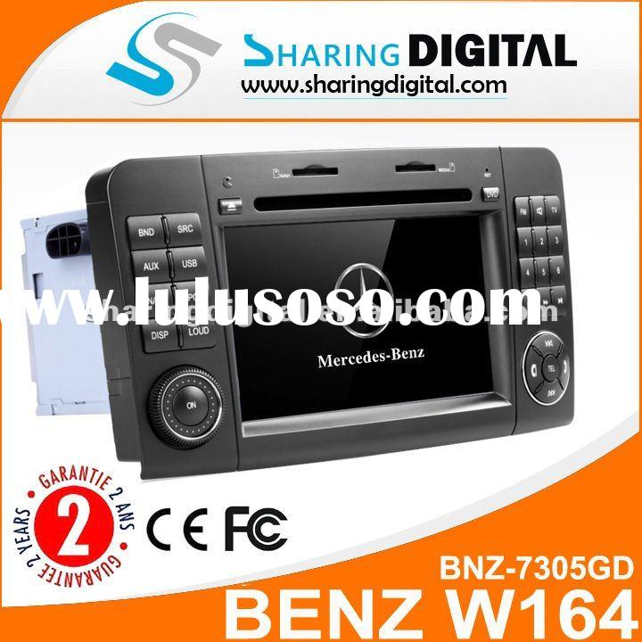 Sharing Digital Mercedes Benz W164 Car DVD Player with GPS Navigation USB Bluetooth Touch Screen