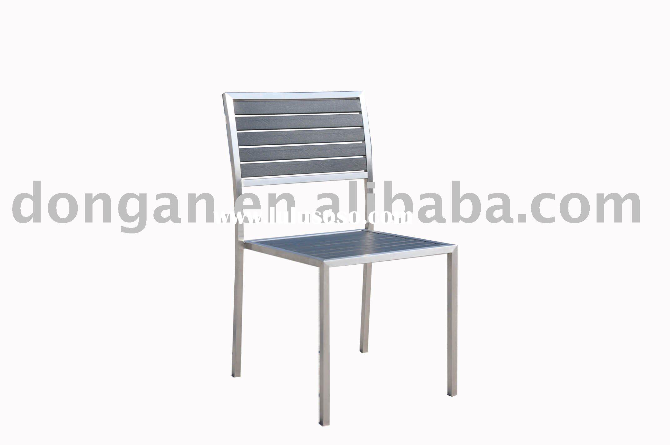 Simple practial furniture stainless steel frame restaurant chair,PS wood chair,dining chair SPS-C05A