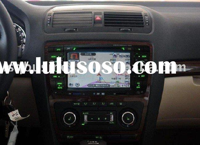 Skoda octavia car dvd with digital touchscreen, radio, tv, ipod, bluetooth, canbus steering