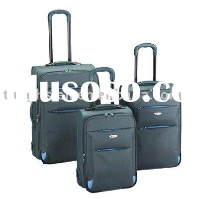 Soft and Hard combined Luggage set, trolley case, baggage