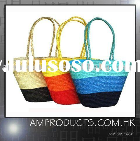 Straw Handbag, Fashion Bag, Lady Bag, shopping bag