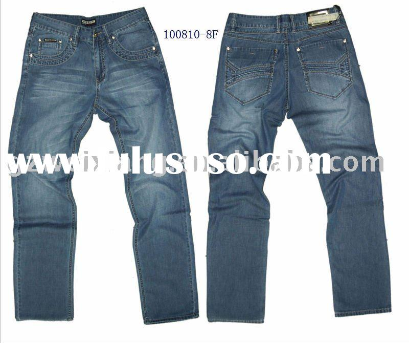 Summer 2011 men's casual fashion jeans