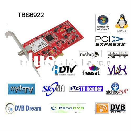 TBS6922 PCI-E DVB-S2 TV Tuner card, Blindscan, satellite TV card, DVB-S2 card