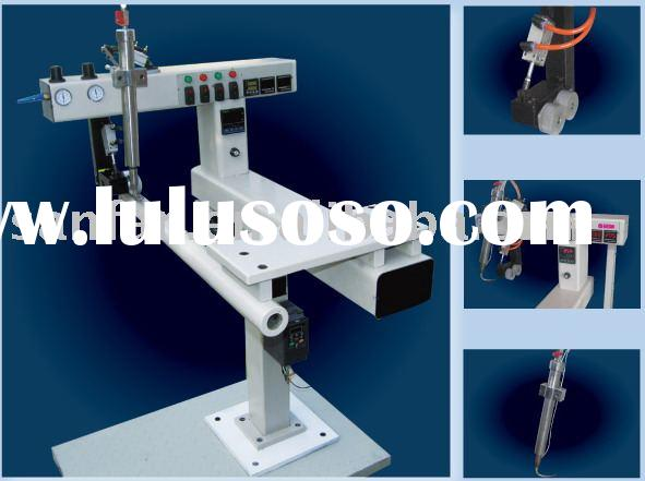 Thermal welding filter making machine.