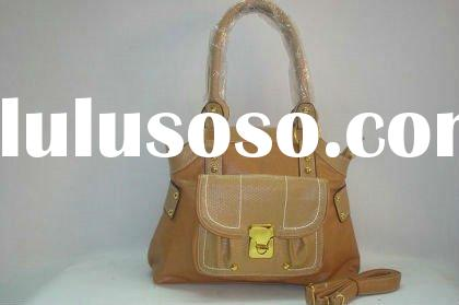 Top quality Double usages fashion brand name designer PU Handbag