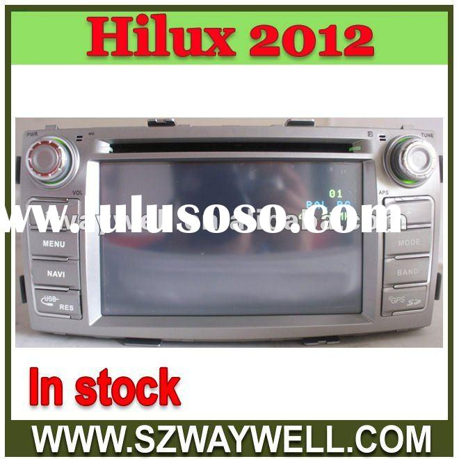 Toyota new Hilux SW4 2012 Car DVD player with GPS navigation blueooth ipod control Radio Amplifier i