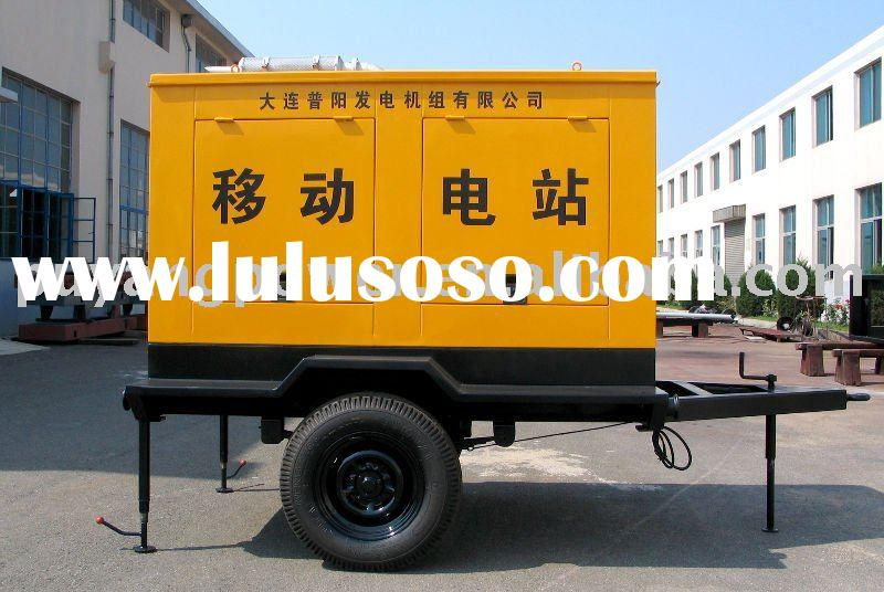 Trailer Power Generator of Diesel fuel (Lovol/Perkins)