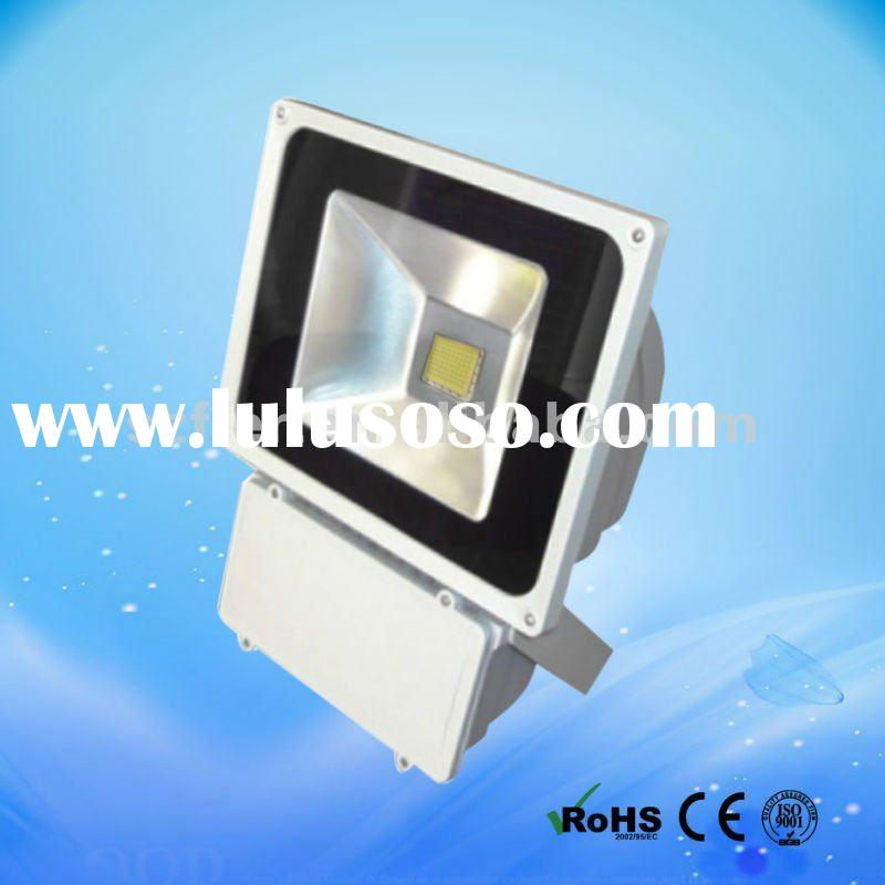 UL listed outdoor led flood light 100w top 100 manufacturer in china