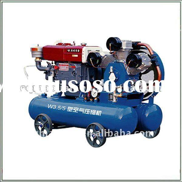 W3.2/7 Diesel Engine Driven Piston Type Air Compressor for mining