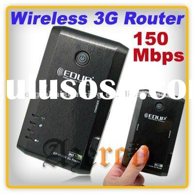 Wholesale EDUP EP-9505N 3G Router 150Mbps 802.11N USB Portable Wireless Wifi Modem With Battery And