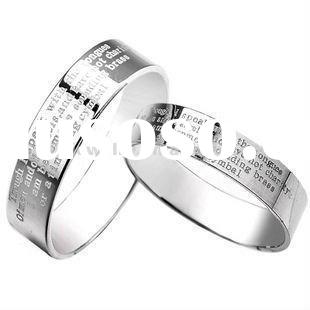 Wholesale silver 925 couple rings jewellery