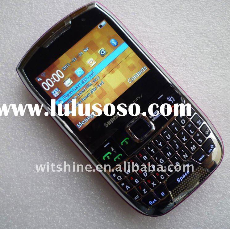 WiFi Phone Cheap Cell Phones X5W 3 SIM Cards Qwerty Phone