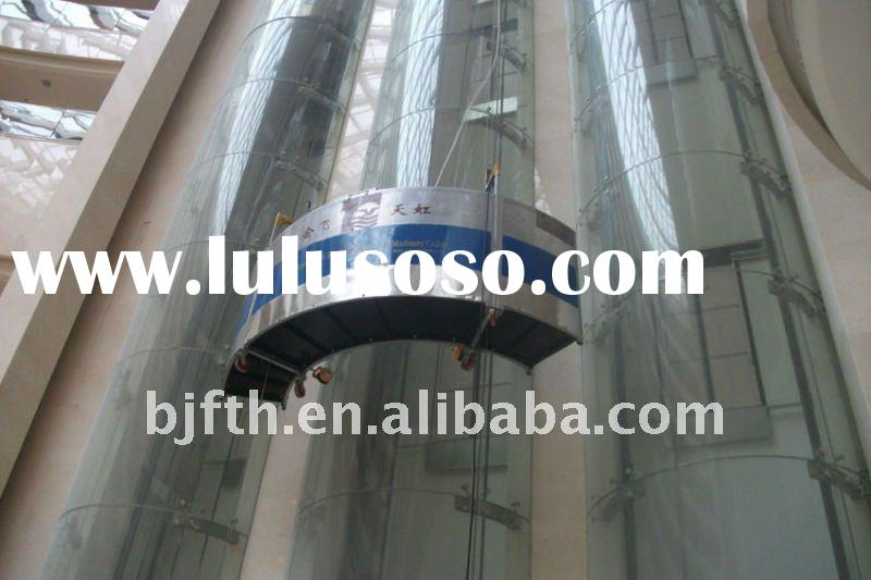 Window cleaning equipment for high-rise buildings
