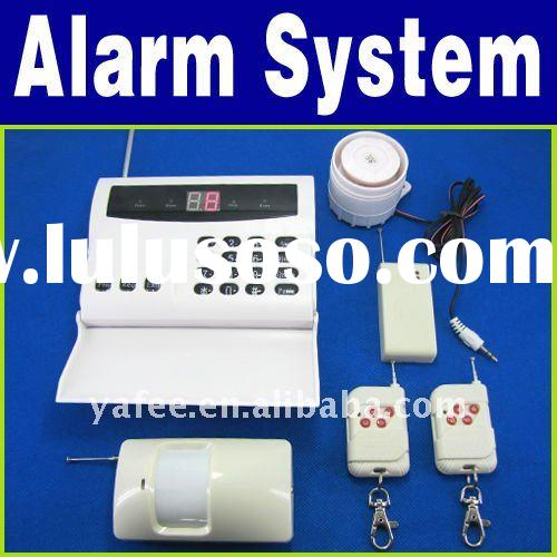 Wireless Home Security Alarm System With Auto Dialing