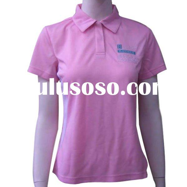 Women wholesale 100 polyester dry fit us polo shirts