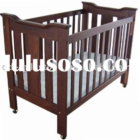 Wood Baby Bed Baby Bedding Set Baby Bed