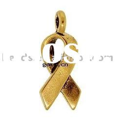 [FREE SHIPPING] necklace pendant (material:silver with 14k gold plated)