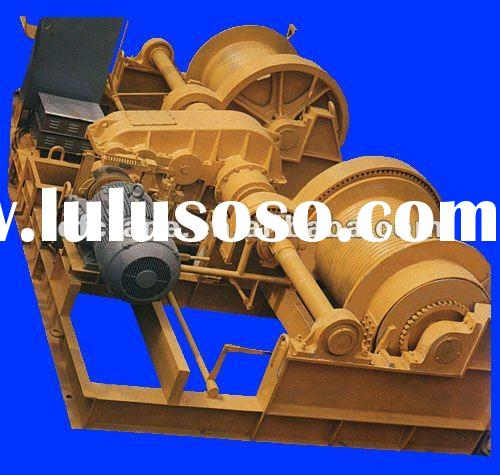 (JK1--10T)Large Powerful Electric Double Drum Winch
