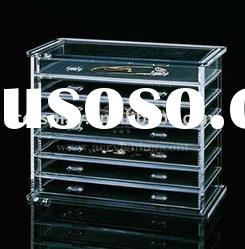 acrylic jewellery display box case