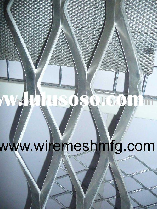 al expanded metal mesh, architectural decorative mesh, small mesh