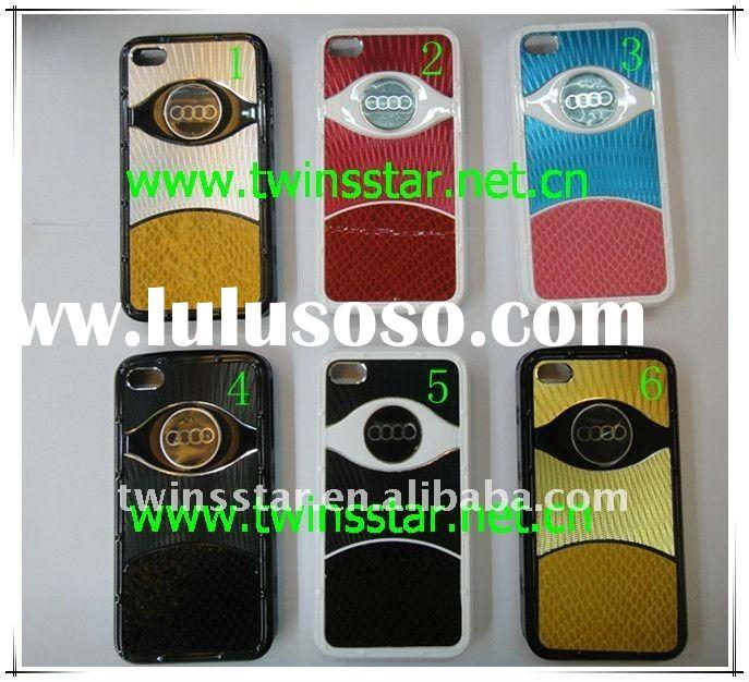 aluminum + hot stamping defender case for iphone 4 g