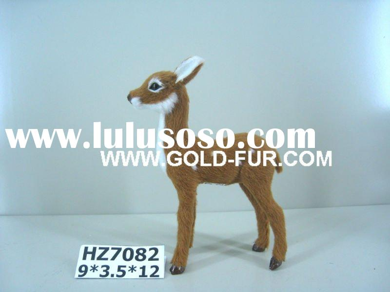 artificial deer,deer,bambi deer, deer for decoration,Christmas deer,lively deer,deer for gifts