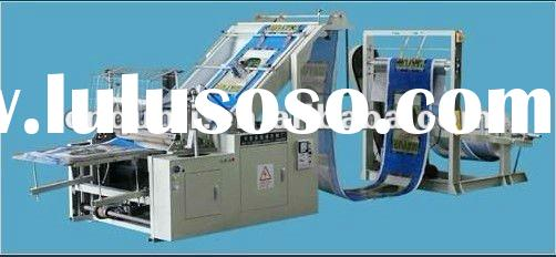 automatic PP woven laminated bag cutting machine