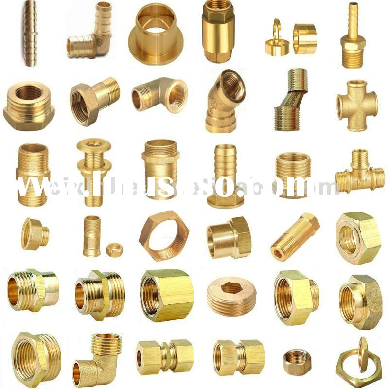 Coupling brass fitting