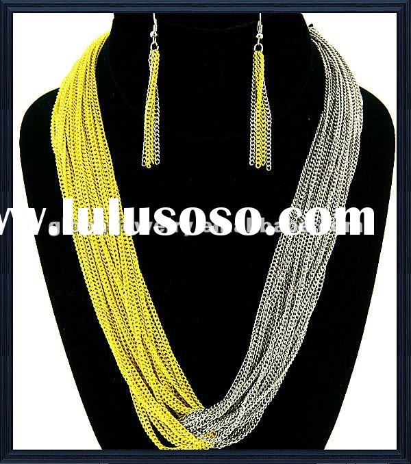 cheap chunky necklace fashion jewelry korean fashion jewelry wholesale fashion statement jewelry