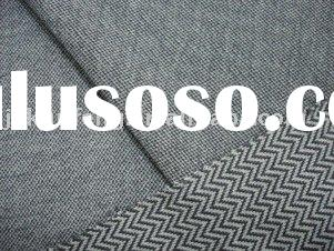 cotton polyester fabric / Twill Jacquard Knitting Textile Fabric