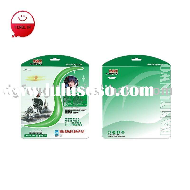 daily use packaging blister card printing