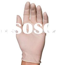 disposable latex examination gloves for medical use