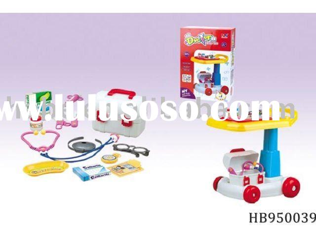 doctor push cart,doctor play set, plastic toys