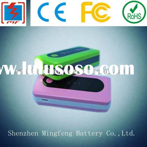 external mobile phone charger with led light function