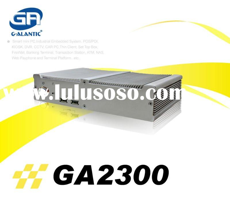 fanless itx case GA2300 - aluminum mini itx case