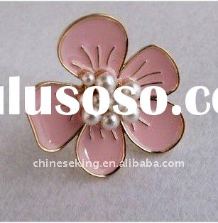 fashion vintage flower finger rings, 2011 antique costume jewelry