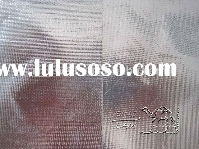foil backed glass fabric heat resistant insulation, foil insulation materilas