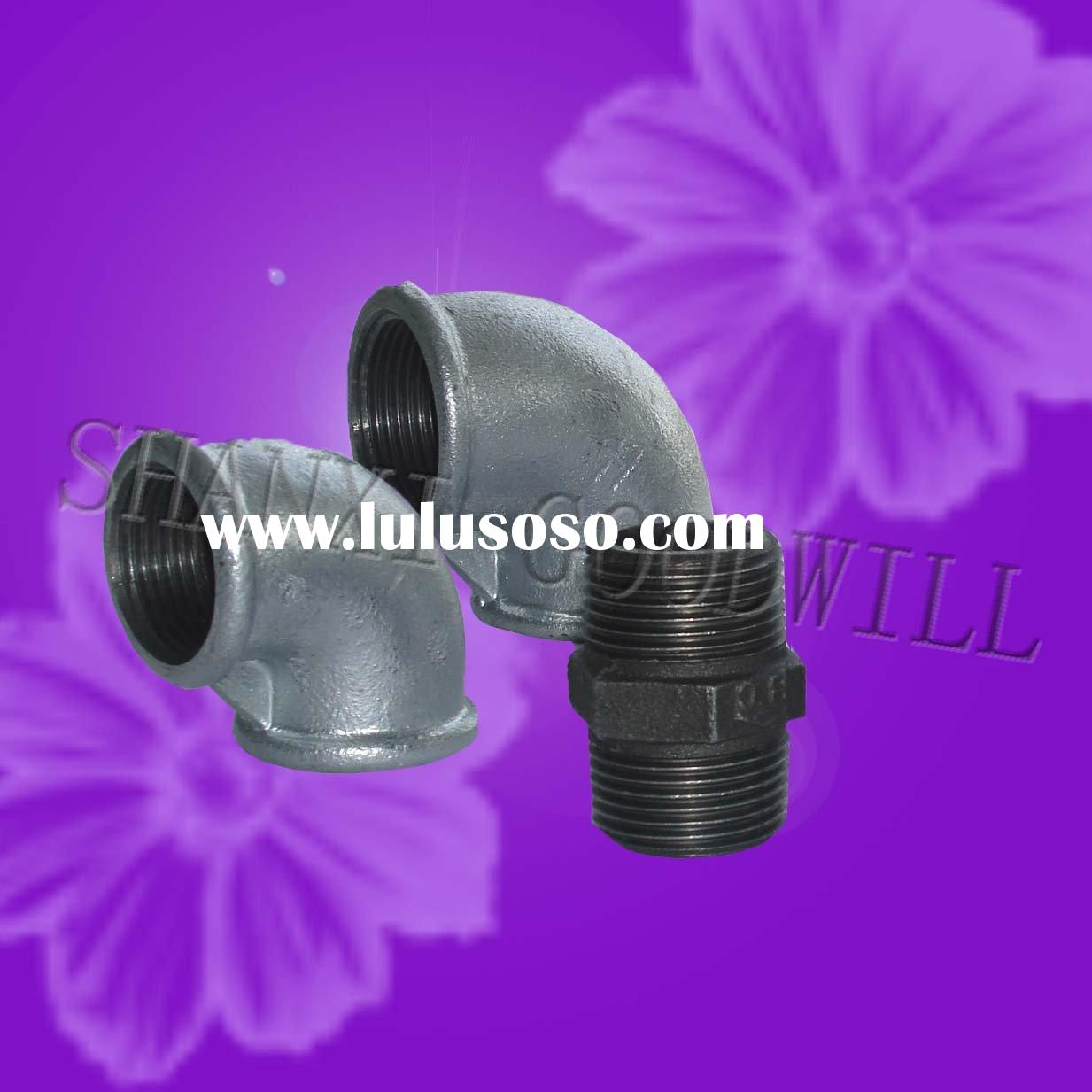 galvanized/black malleable iron cast pipe fittings