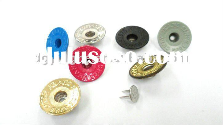 high quality single prong centre hole Jeans button metal products